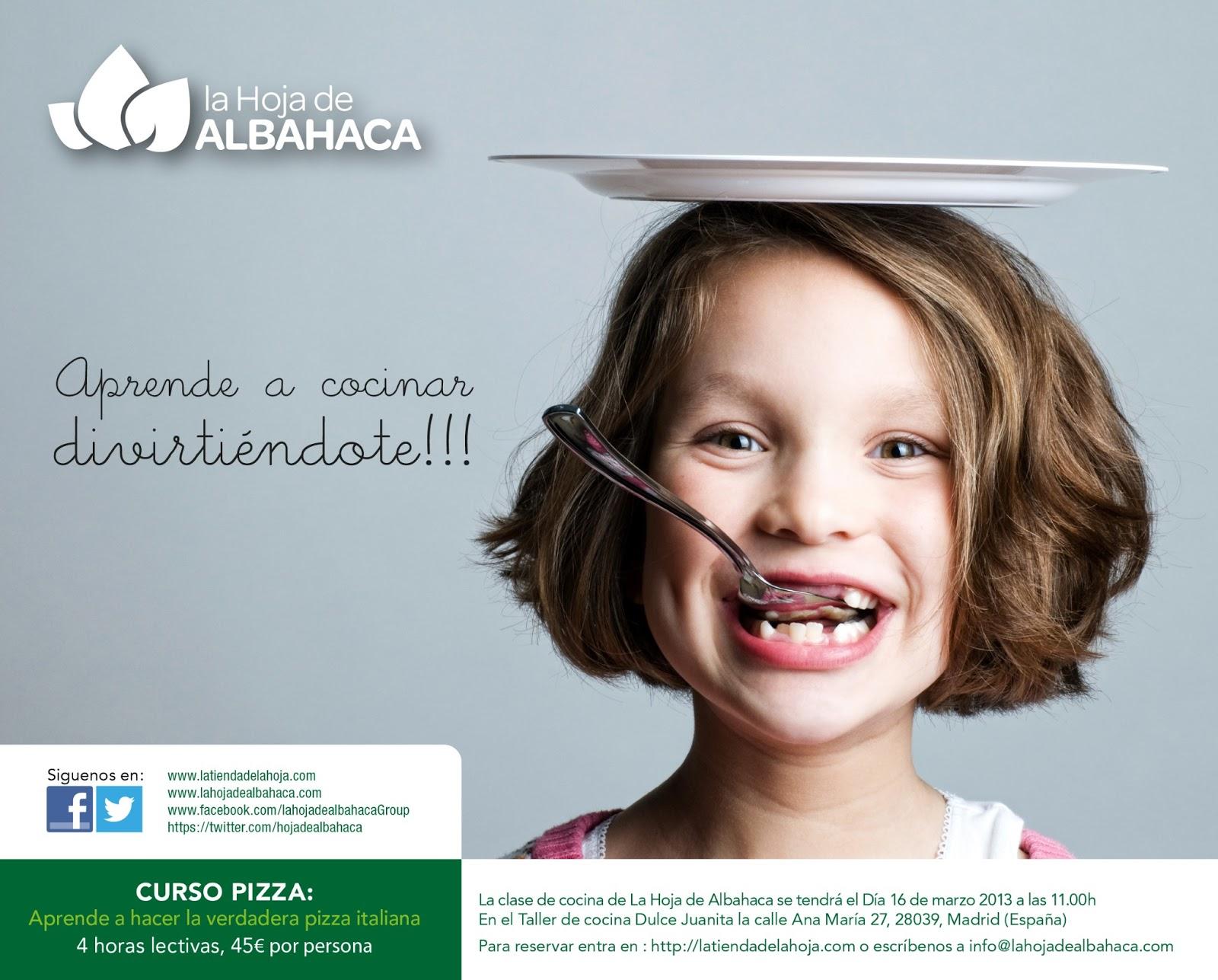 taller, pizza, taller pizza, cursos cocina, Madrid