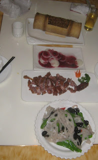 Shanghai - Abendessen mit rotem Reis