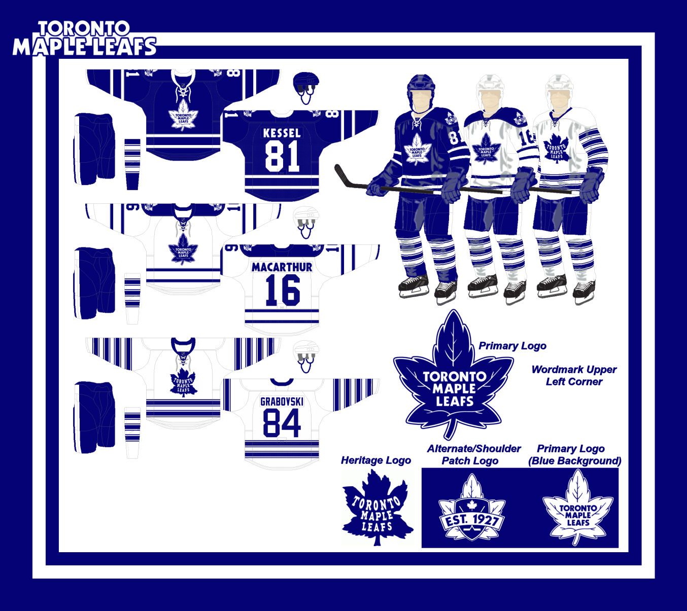 Made a New Leafs Logo