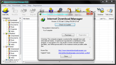 Internet Download Manager 6.15 Build 14 Full Patch
