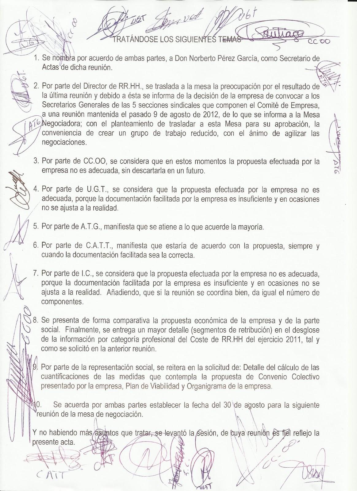 Publicado por COMITÉ DE EMPRESA GLOBAL