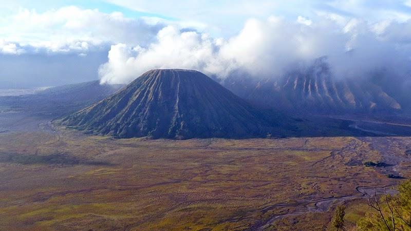 Indonésie - Mont Bromo Volcan Lever de soleil Paysage Vue