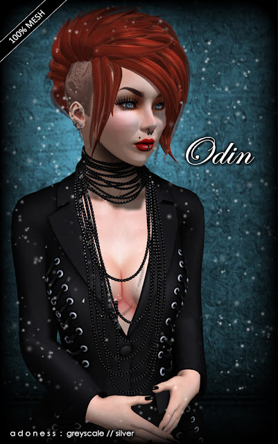 second life hair