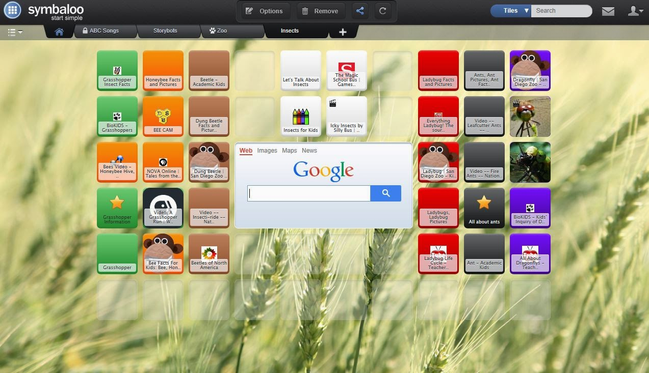http://www.symbaloo.com/mix/insects4