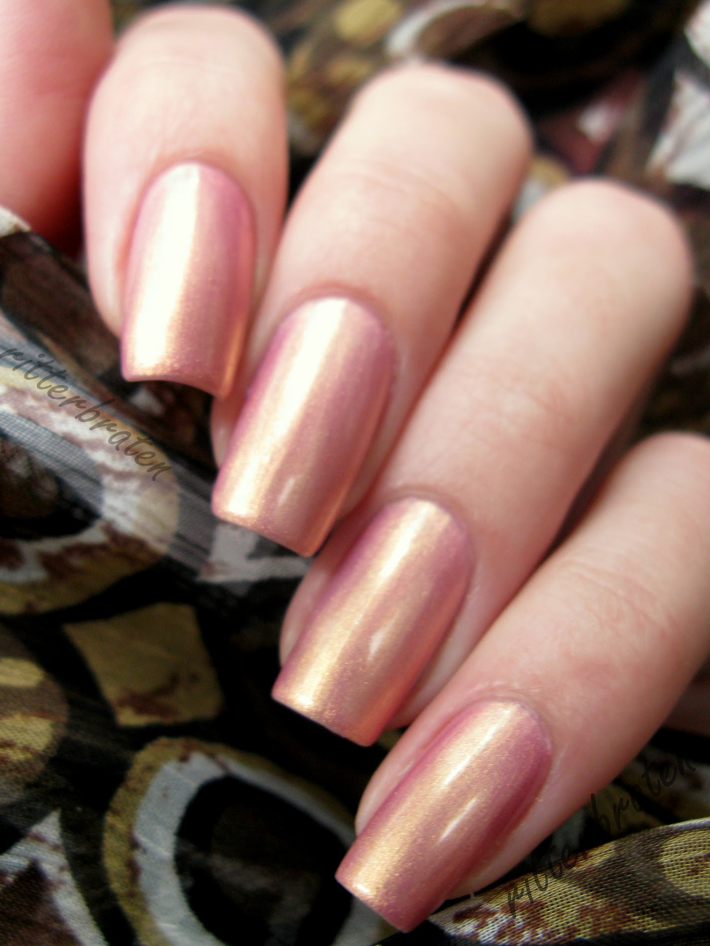 Max Factor Sunny Pink nail polish swatch