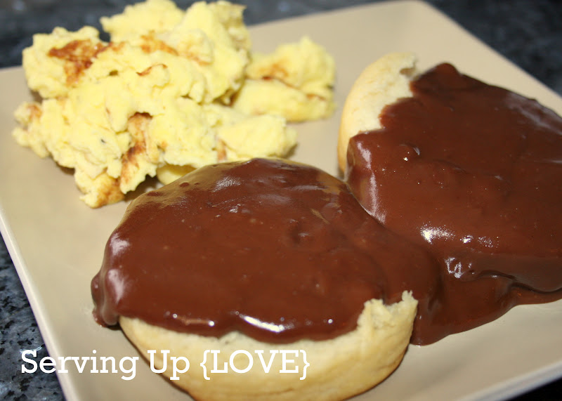 CHOCOLATE GRAVY (for biscuits) Pin It