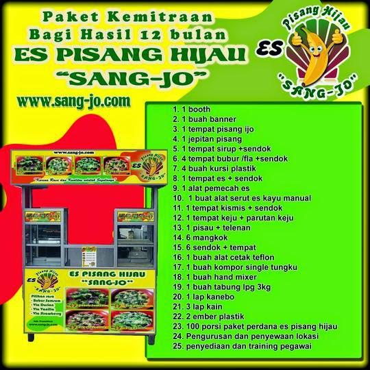 Paket Kemitraan dengan booth sistem bagi hasil (khusus area Jakarta)