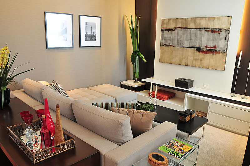 A casa da sheila salas de estar decoradas e lindas - Decoracion sala de estar ...