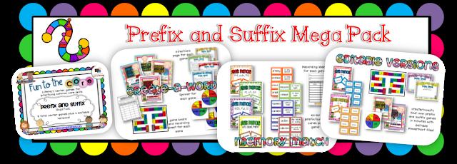 https://www.teacherspayteachers.com/Product/Fun-to-the-CORE-Prefix-and-Suffix-Mega-Pack-8-Games-Plus-2-Editable-742197