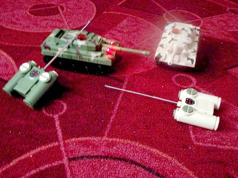 czołgi sterowane na pilota