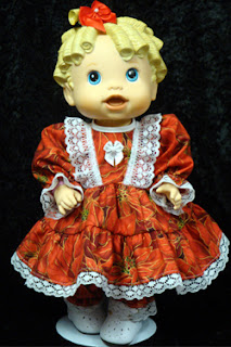 Baby Alive Doll Dresses by AdorableDollClothes.com