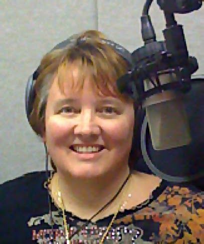 Karen Commins narrator of Kitty Kitty Bang Bang by Sparkle Abbey