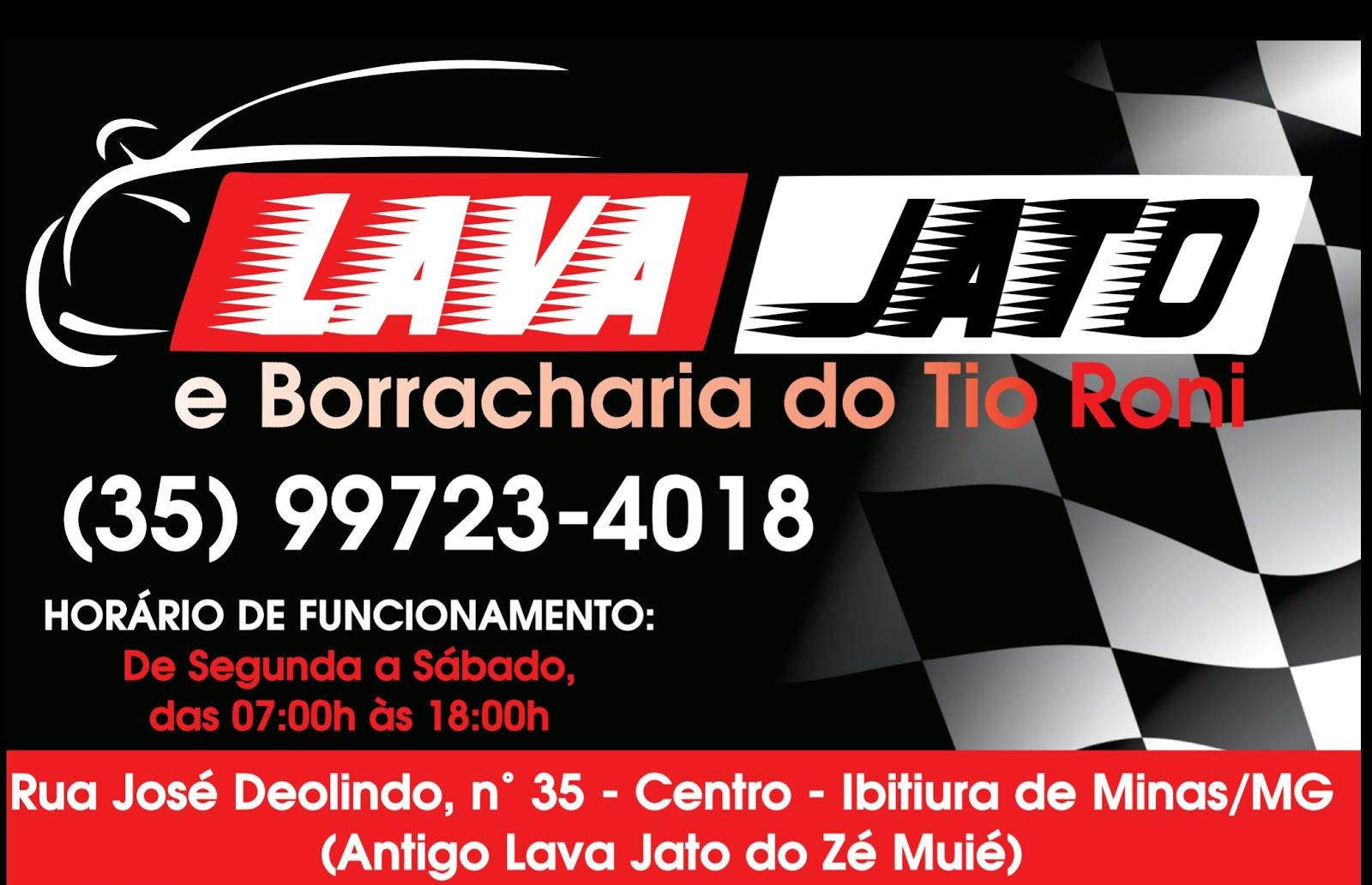 LAVA JATO TIO RONI IBITIURA DE MINAS
