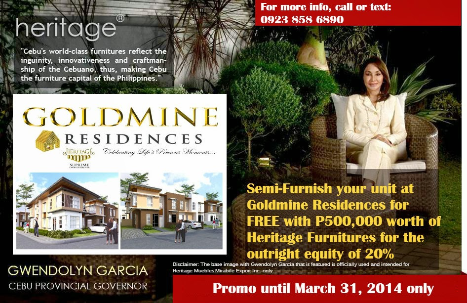semi furnish unit with outright equity Mactan House and Lot Goldmine Residences
