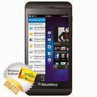 Harga HandPhone Blackberry Z10 - 16 GB - Hitam - Indosat - Unlocked