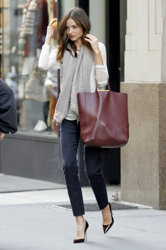 A Sip Of Fashion Baby Miranda Kerr Street Style
