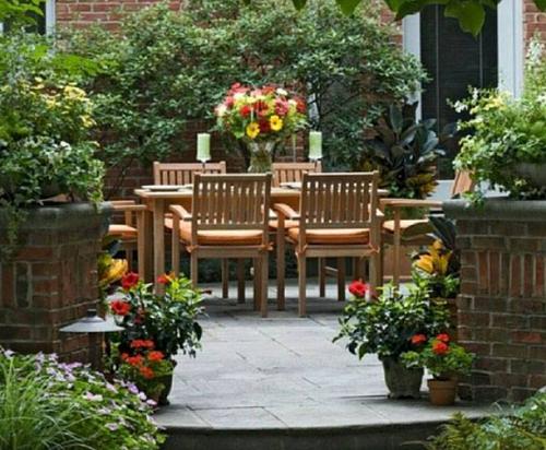 taman rumah minimalis impian