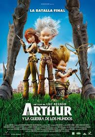 Arthur 3 y la Guerra de los Mundos