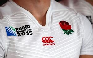 Inglaterra presentó las camisetas para la RWC2015