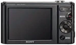 tampilan belakang Kamera Digital Sony DSC-W810