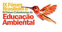 IX Fórum Brasileiro de Educação Ambiental