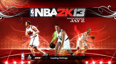 NBA 2K13 Brian Scalabrine White Mamba Startup Screen Mod
