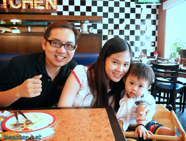 Hey that's me! With Janice and Baby Martin
