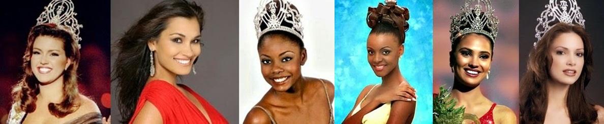 Misses Universo: 96, 97, 98, 99, 00 e 01
