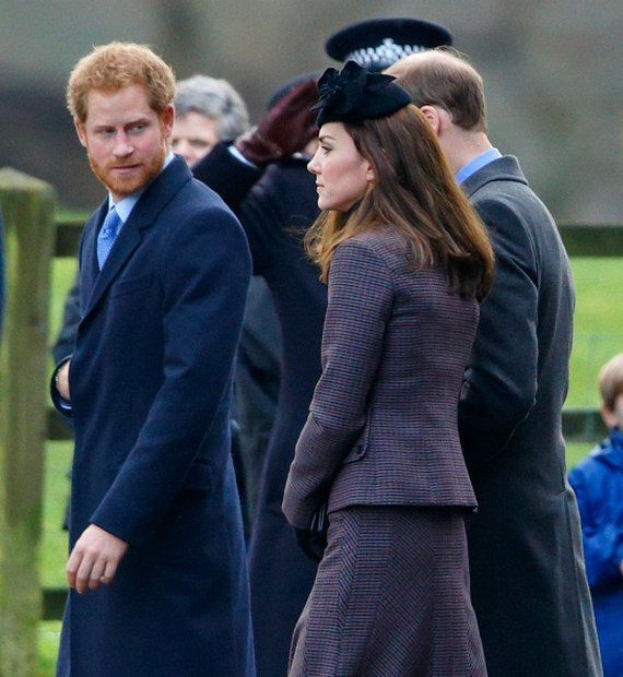 British Royal Family Attended The Sunday Service At Sandringham