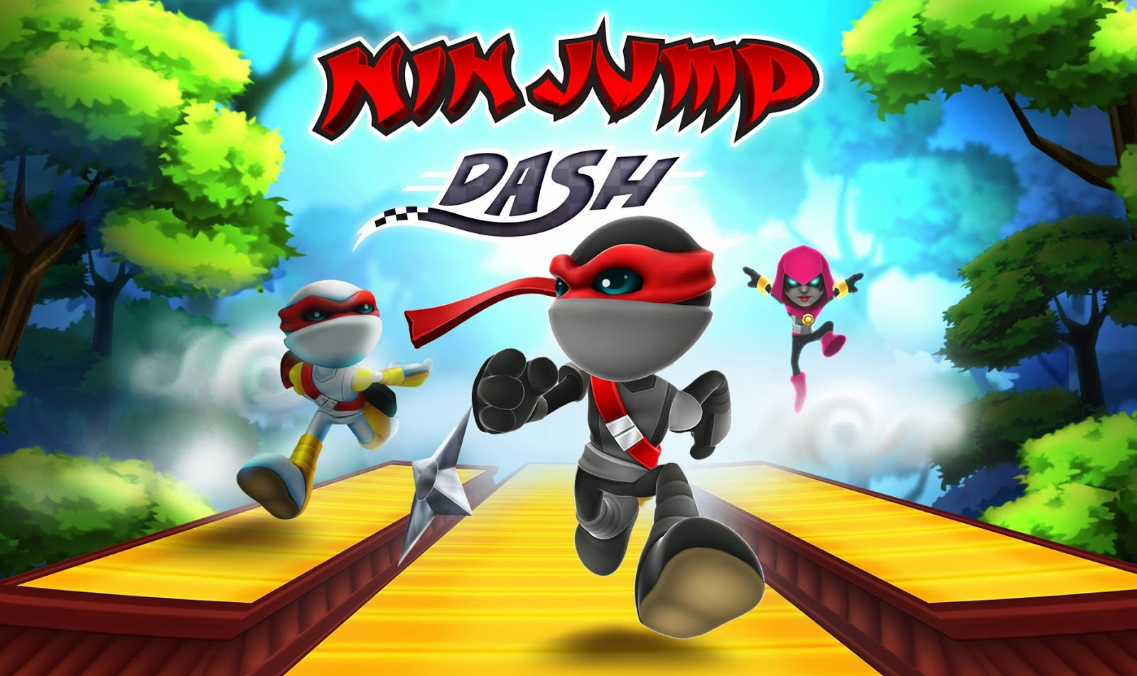 NinJump Dash Gameplay