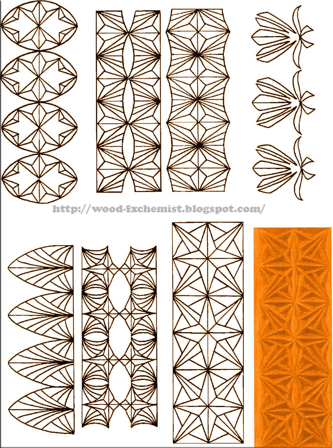 Схемы резьбы по дереву для начинающих