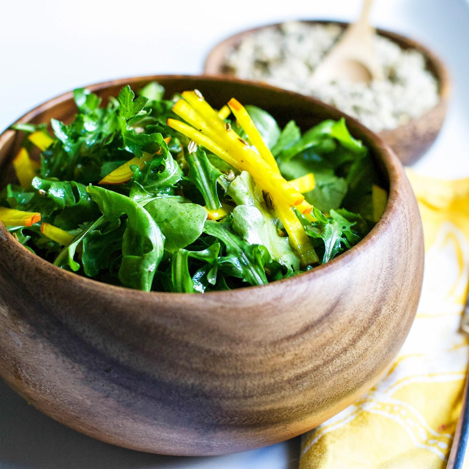 arugula, beets, fennel seeds, detox, healthy, spring, salad, easy, lemon, vinaigrette
