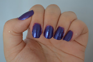 NYC Purple Pizazz nail polish swatches