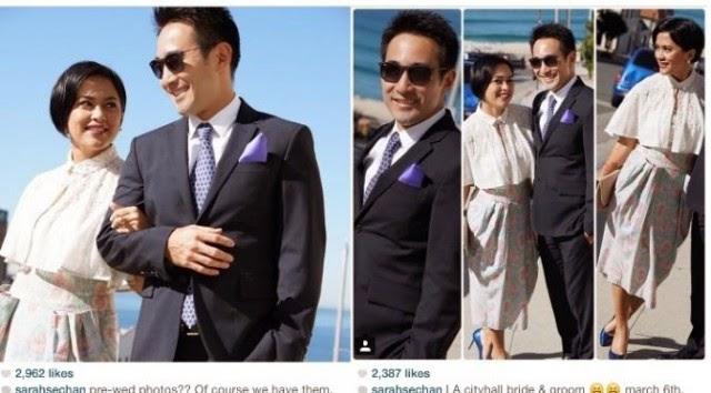 Foto Pernikahan Sarah Sechan dan Neil G Furuno