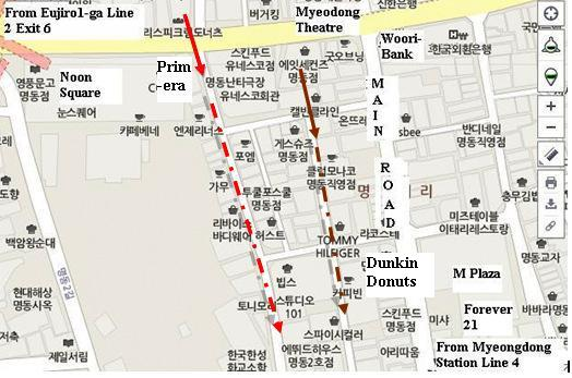 Seoul Fever Myeongdong Shopping Guide This Time with Map