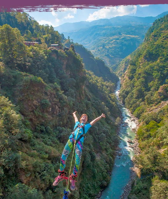 videos, Nepal's wildest rivers, second-highest bungee jumping site in the world, Jumping Sport, Adventure sports in Nepal, leisure holidays