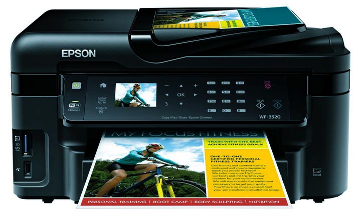 Epson WorkForce WF-3520 Driver Download