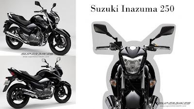 Harga dan Spesifikasi Suzuki Inazuma 250cc