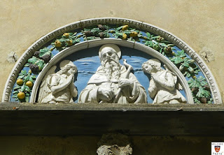lunetta robbiana oratorio Sant'Antonio - Prato