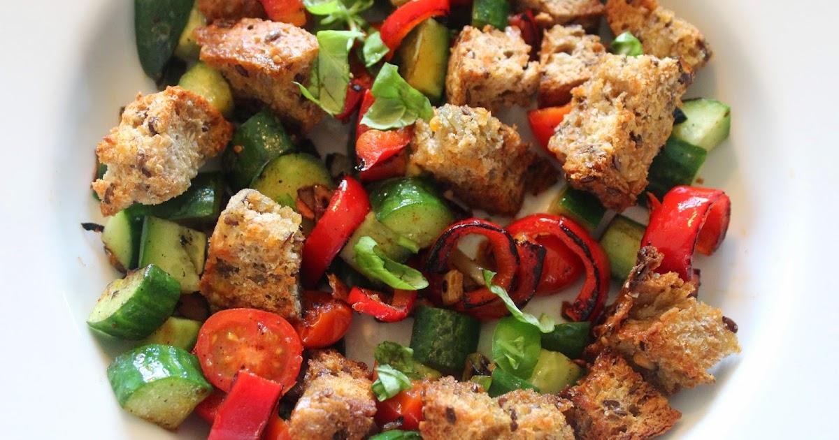 Margrethe si kokebok: Italiensk brødsalat - Vegetar
