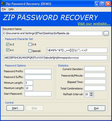 free Download Zip Password Recovery