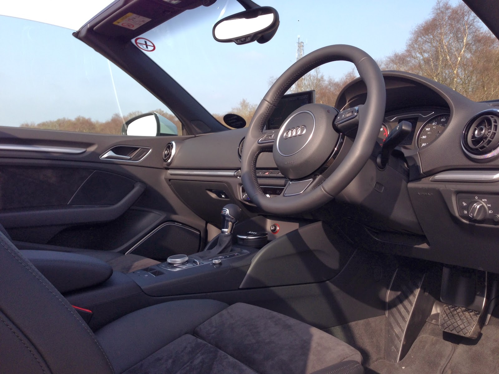 2014 Audi A3 Cabriolet interior