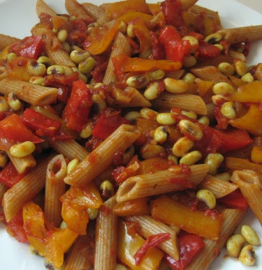 pasta with fresh shelling beans