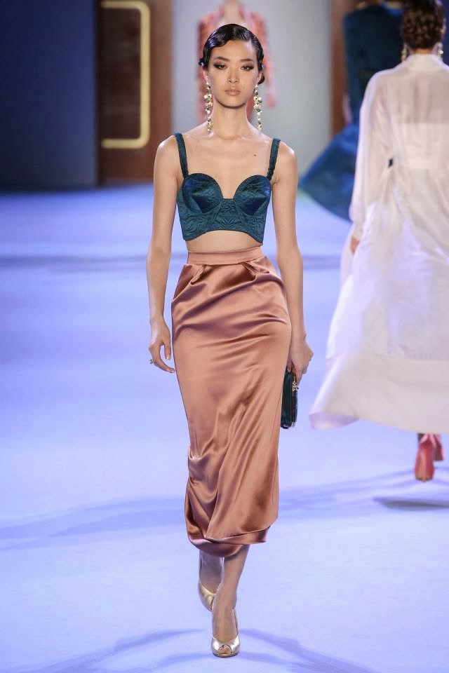 Ulyana Sergeenko Couture Spring 2019 Collection Was Inspired by Russian Pagan Times