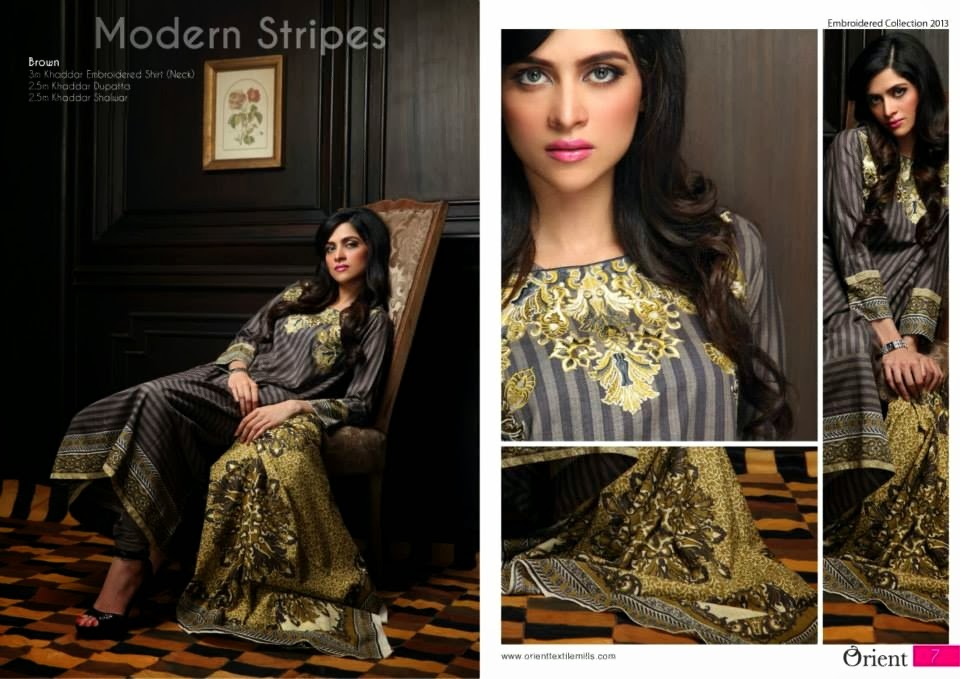 OrientTextilesKashmiriKhaddarCollection2013Vol2 wwwfashionhuntworldblogspotcom 021 - Orient Textiles Kashmiri  Fall/Winter Collection 2013 vol 2