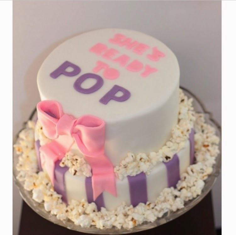 Reems Cake Boutique Ready To Pop Baby Shower Cake