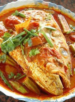 menu Kari Kepala Ikan