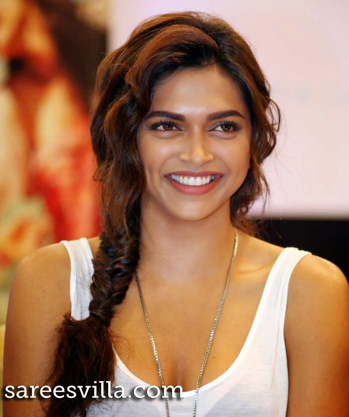 Indian film actress and model Deepika Padukone