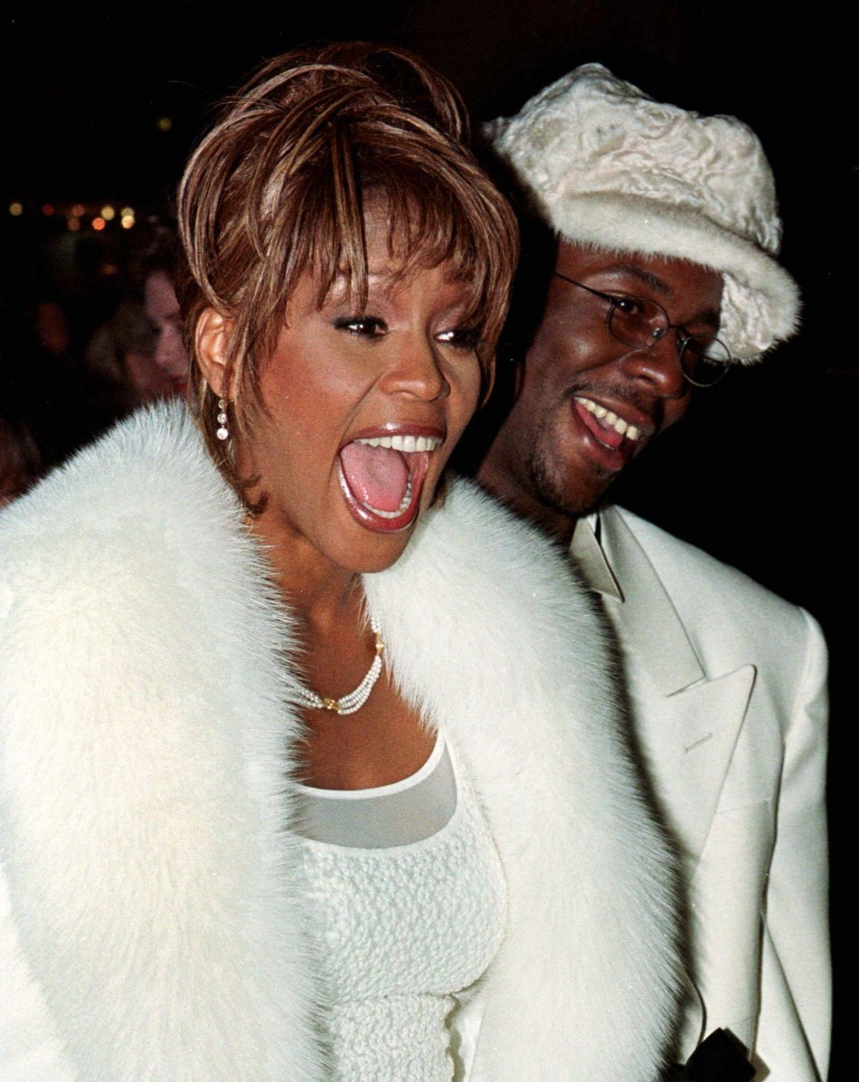 whitney houston and her husband bobby brown