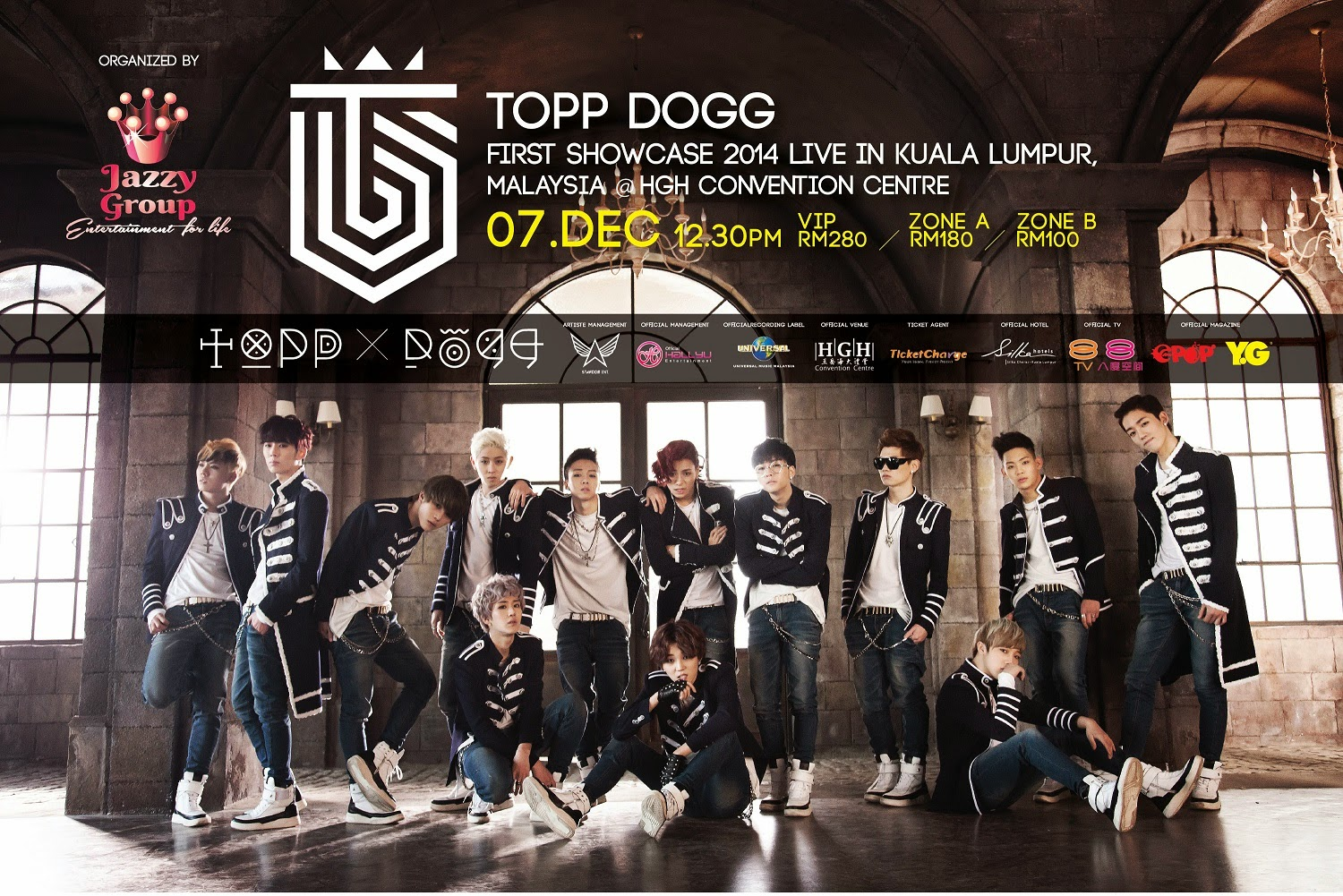 Topp Dogg Malaysia Showcase tickets giveaway
